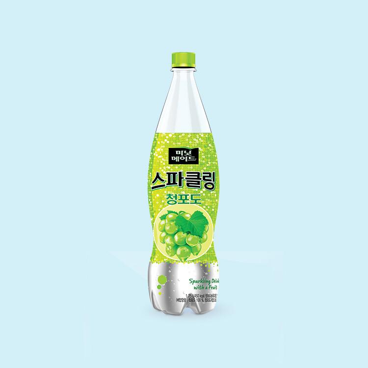 Minutemaid Sparkling Green Grape 1.25L