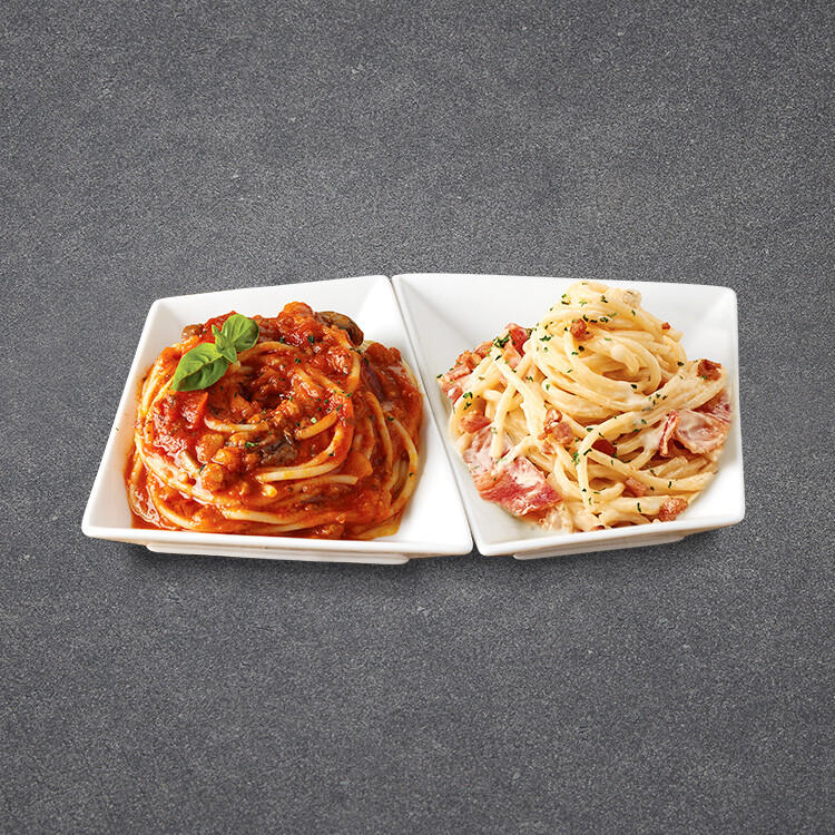 Half&Half Spaghetti (NEW Cheese & White Cream)